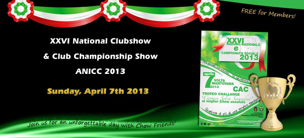 ANICC Clubshow 2013