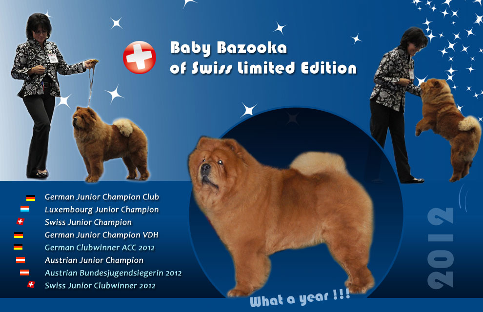 Baby Bazooka of Swiss Limited Edition