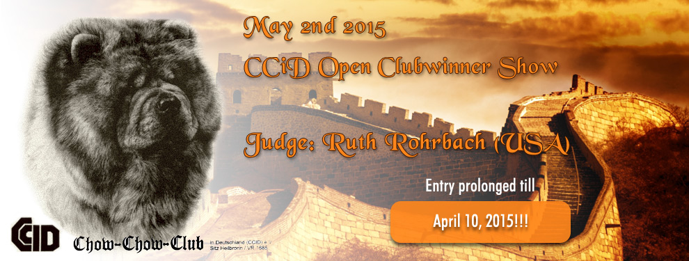 CCiD Clubsiegerschau 2015