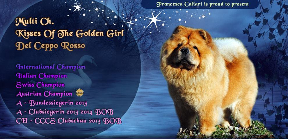 Kisses Of The Golden Girl Del Ceppo Rosso