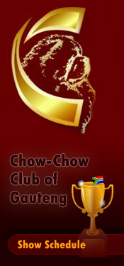 Chow-Chow Club of Gauteng Show Schedule