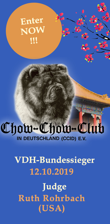 Chow Chow Club in Deutschland (CCiD) Clubshow 2019