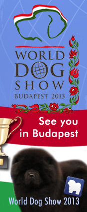 See you at the FCI World Dog Show 2013 in Budapest